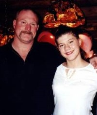 Dave & Rhiannon. 13th Birthday 11/14/2002