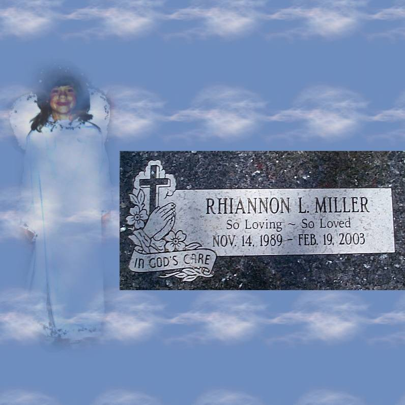 Rhiannon's Monument was just placed